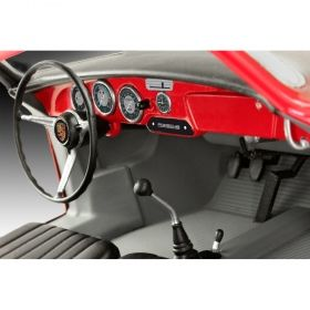 Автомобил Порше 356 Купе изикит -  Сглобяем модел Revell