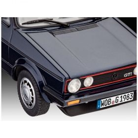 Автомобил VW Голф GTi Пирели 35 години -  Сглобяем модел Revell