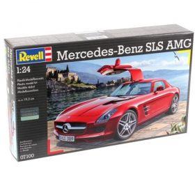 Автомобил Мерцедес Бенц SLS AMG -  Сглобяем модел Revell