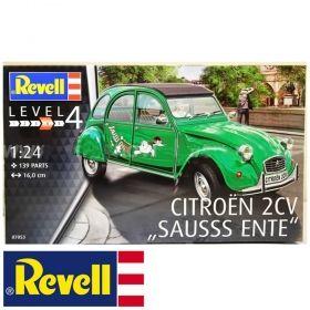 Автомобил Ситроен 2CV - Сглобяем модел Revell
