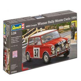 Автомобил Mini Cooper Rally 1964 - Сглобяем модел Revell