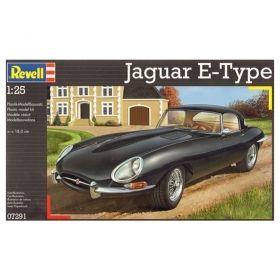 Автомобил Jaguar E-Type - Сглобяем модел Revell