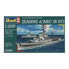 "Десантно-вертолетен кораб "" Jeanne d'Arc"" (R97) 1:1200 - Сглобяеми модели Revell"