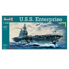 Самолетоносач U.S.S. Enterprise 1:1200 - Сглобяеми модели Revell