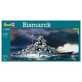"""Военен кораб """"Бисмарк"""" 1:1200 - Сглобяеми модели Revell"""