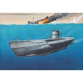 Подводница Type VII C 1:350 - Сглобяеми модели Revell