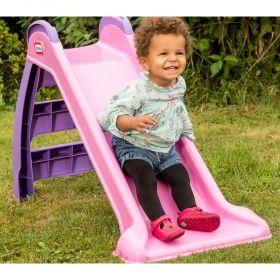 Моята първа пързалка Little Tikes - розова