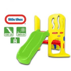 Пързалка с място за криене Little Tikes