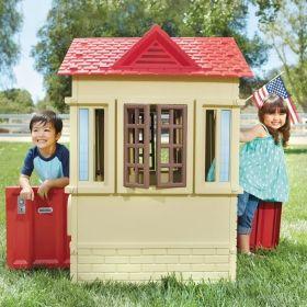 Къща (бежова) Little Tikes