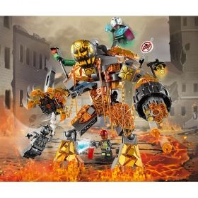 LEGO® DC Comics Super Heroes 76128 - Molten Man Battle