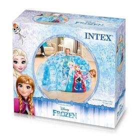 Надуваемо иглу Замръзналото Кралство с топки INTEX FROZEN