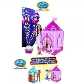 Светлинна диско палатка - Замъкът на принцесата
