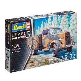 Немски камион тип 2,5-32 - Сглояеми модели Revell