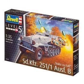 Ракетоносител Sd.Kfz. 251 - Сглояеми модели Revell