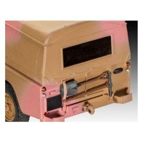 Британски военен офроуд джип - Сглояеми модели Revell