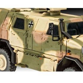 Военен камион Динго - Сглояеми модели Revell