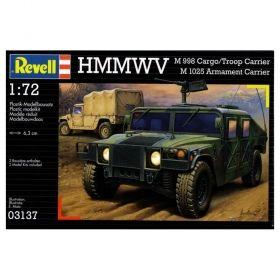 Военен джип HMMWV M 1025 / M 998 - Сглояеми модели Revell