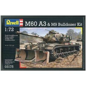Булдозер M60 A3 - Сглояеми модели Revell