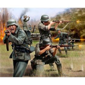 Войници от немската пехотна войска - Сглобяеми модели Revell