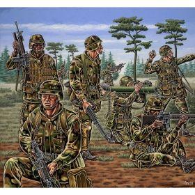 Aмериканската пехотна войска - Сглобяеми модели Revell