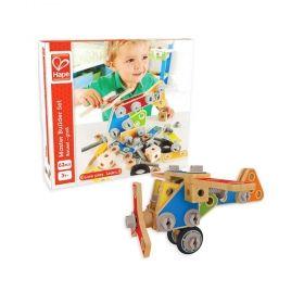 Дървена игра за сглобяване – Самолет