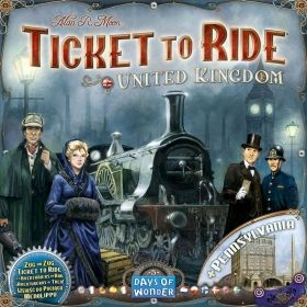 TICKET TO RIDE MAP COLLECTION: VOL. 5 - UNITED KINGDOM & PENNSYLVANIA