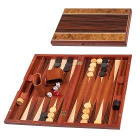 Дървена табла с покритие от абанос и сандал, среден размер