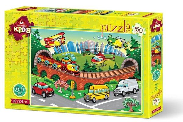 Пъзел Art Puzzle от 50 части - Трафик