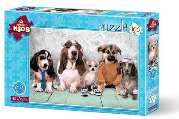 Пъзел Art Puzzle от 100 части - Кучетата - модели