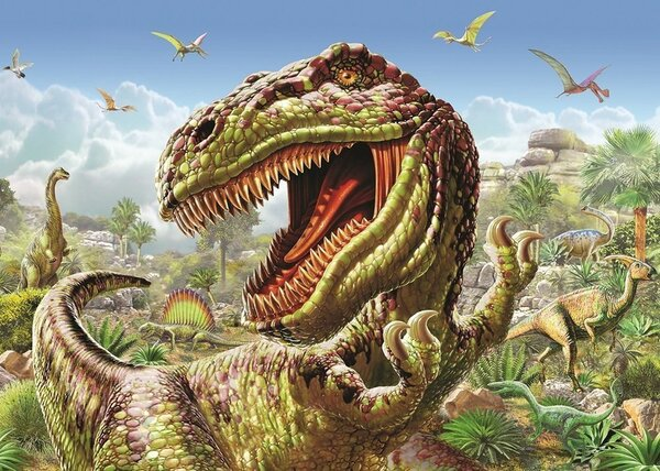 Пъзел Art Puzzle от 100 части - Тиранозавър Рекс