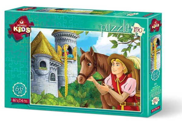 Пъзел Art Puzzle от 150 части - Момичето в Замъка