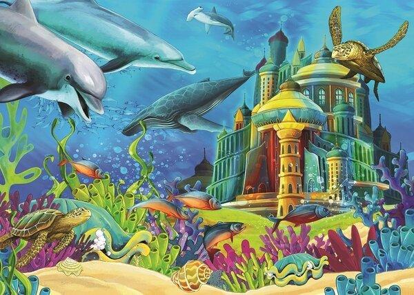Пъзел Art Puzzle от 150 части - Подводният замък