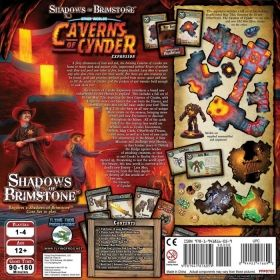 SHADOWS OF BRIMSTONE - CAVERNS OF CYNDER Expansion