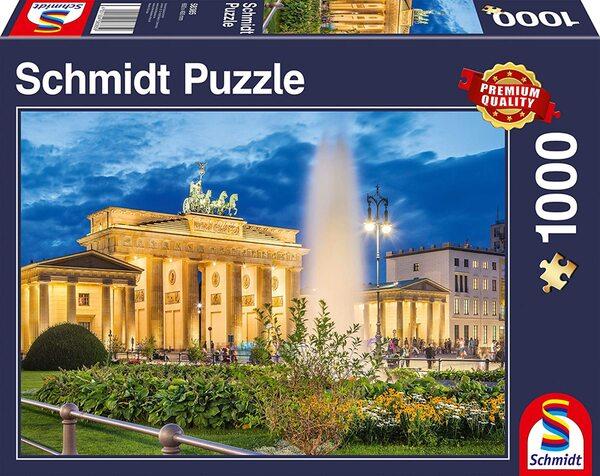 Пъзел Schmidt от 1000 части - Бранденбургската врата, Берлин