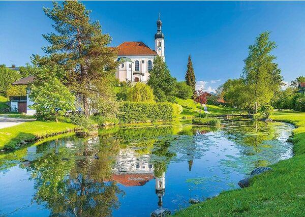 Пъзел Schmidt от 1000 части - Брайтбрун, Кимгау, Бавария