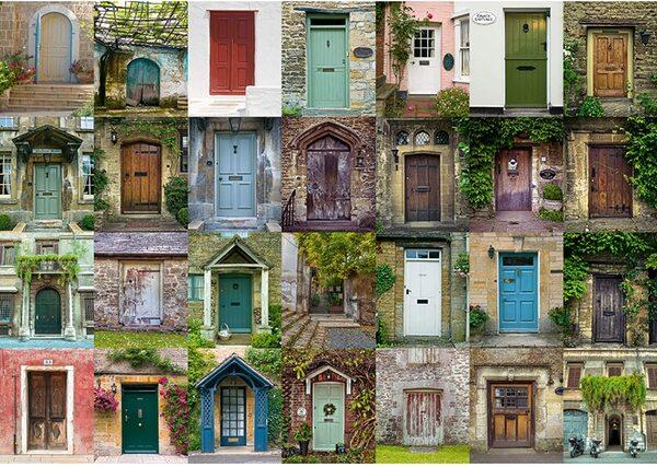 Пъзел Schmidt от 1500 части - Врати