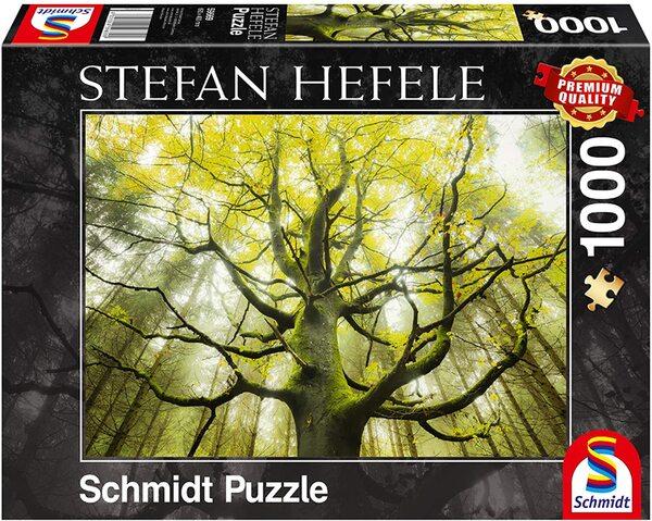 Пъзел Schmidt от 1000 части - Дърво от сънищата, Щефан Хефеле