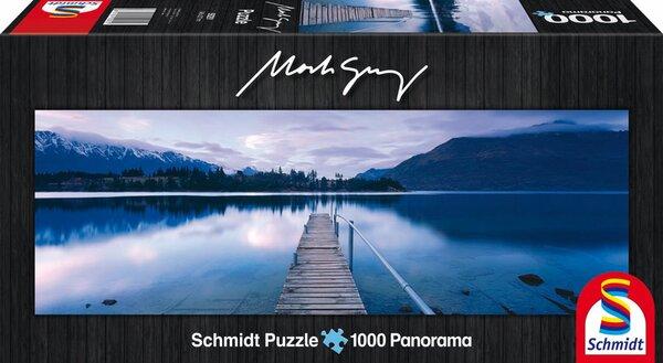 Панорамен пъзел Schmidt от 1000 части - Езерото Уакатипу, Марк Грей