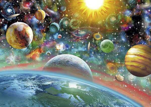 Пъзел Schmidt от 1000 части - Вселена