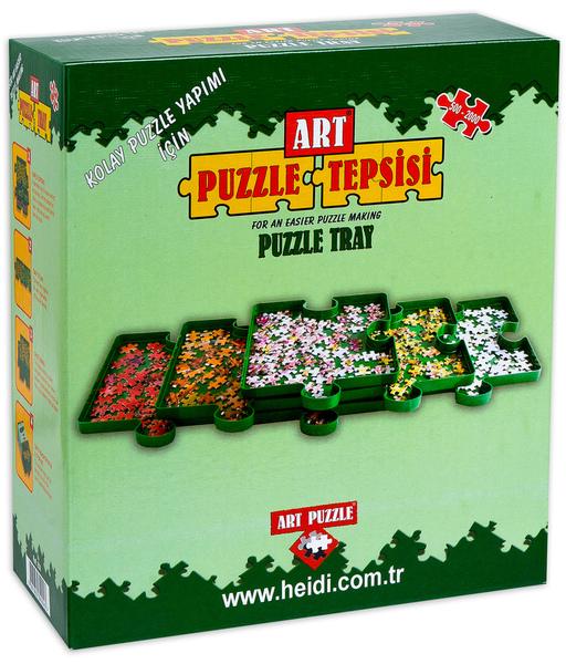 Комплект сортери за пъзелни части Art Puzzle - 6 броя