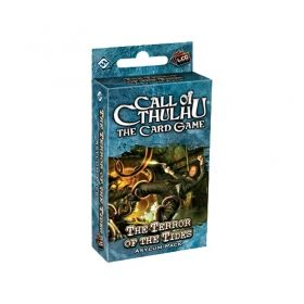CALL OF CTHULHU - THE TERROR OF THE TIDES - Asylum Pack 4