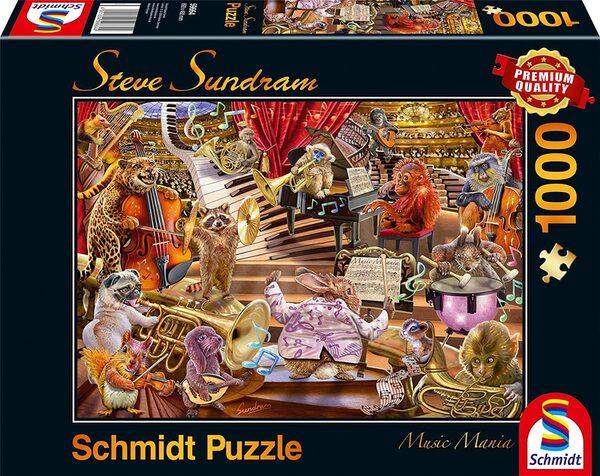Пъзел Schmidt от 1000 части - Музикална мания, Стив Съндрам