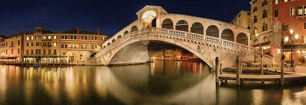 Панорамен пъзел Schmidt от 1000 части - Мостът Риалто, Венеция, Манфред Вос
