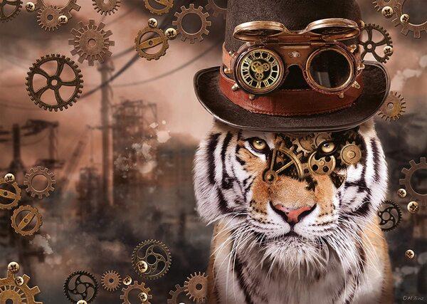 Пъзел Schmidt от 1000 части - Стиймпънк тигър, Маркъс Бинц