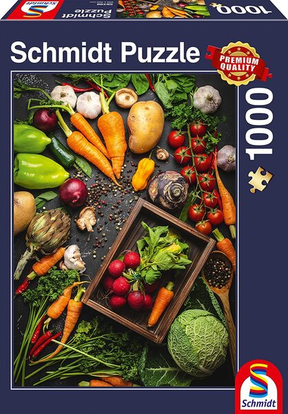 Пъзел Schmidt от 1000 части - Здравословна храна
