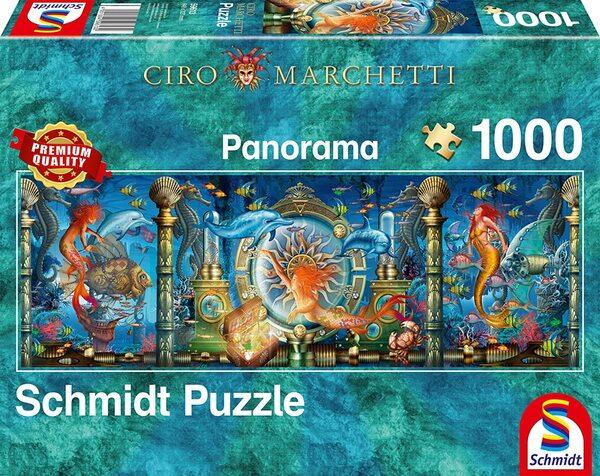 Панорамен пъзел Schmidt от 1000 части - Подводен свят, Чиро Марчети