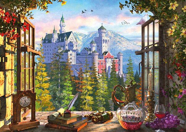 Пъзел Schmidt от 1000 части - Изглед към приказния замък