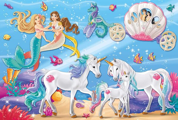 Пъзел Schmidt от 60 части - Магията на русалките, с фигурка Bayala