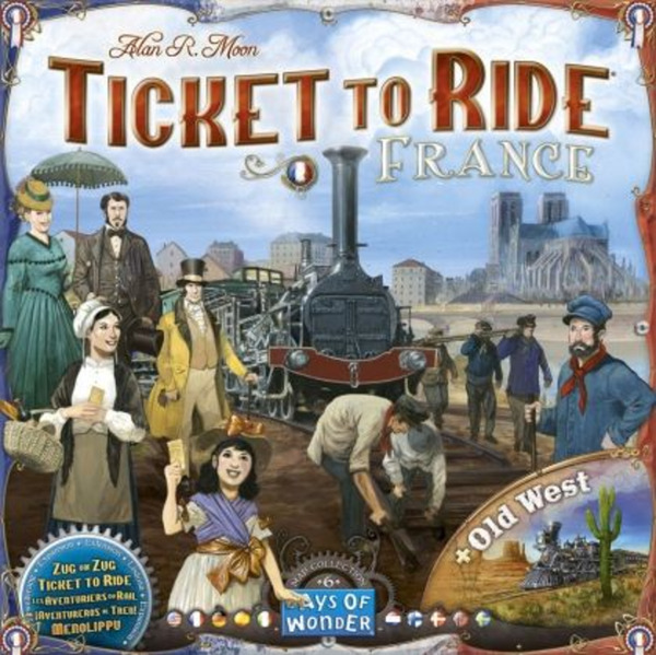 Разширение за Ticket to Ride - France & Old West