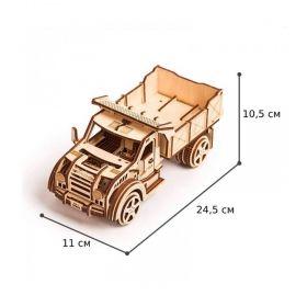 3D пъзел Бъги 22см, 144 части, дървен конструктор с подвижни части